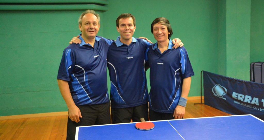 Tennis de table de Châtelaine équipe 7 une bien belle équipe