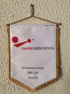 Fanion finale suisse U13