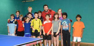 club tennis de table de Châtelaine - stage de Noël 2014